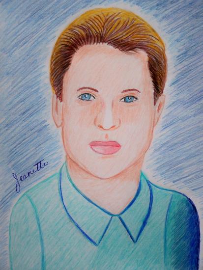 Brad Pitt par Jeanette